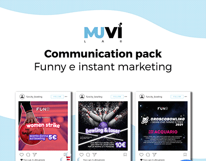 Communication pack Funny & Instant marketing