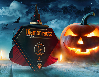 diamonrecta social media,halloween
