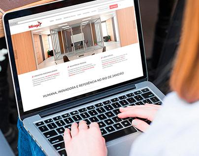 Site Corporativo - Mirage Móveis para Escritório