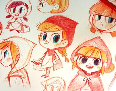 color pencil doodle