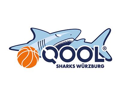 Logodesign QOOL Sharks