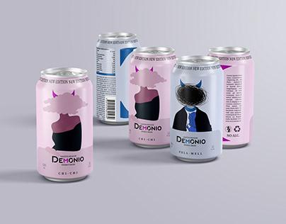 Demonio Energy Drink & Brand Identity