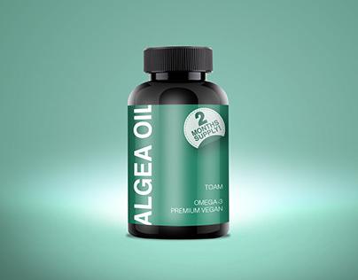 Packaging for Algae Oil