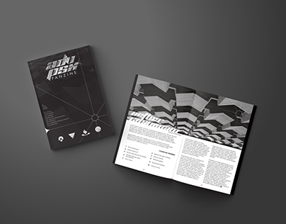 Minimalist Fanzine Design and Layout