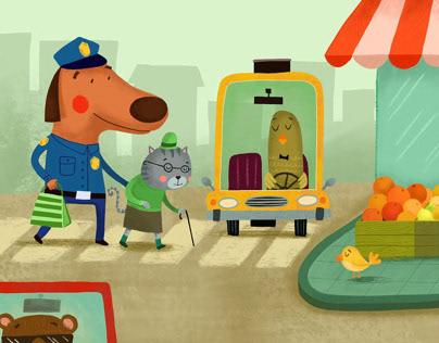 Ride On Track - Policeman Doug
