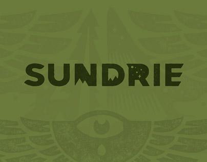Sundrie logo design