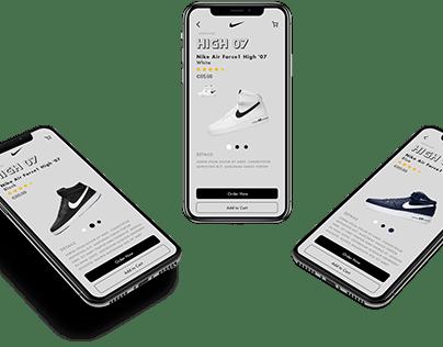 Nike - Ecommerce Project
