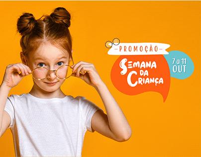 Campanha 'Semana da Criança' - Vivace Ótica