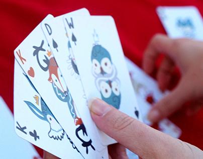 Królestwo zwierząt - Illustrated playing cards