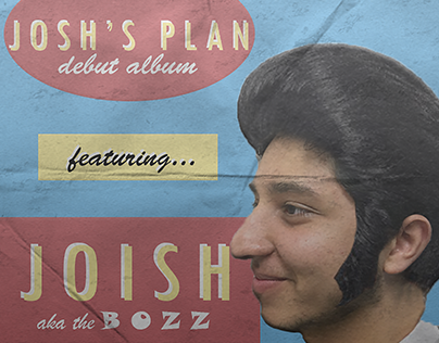 JOSH'S PLAN ALBUM COVER