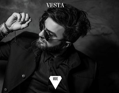 Vesta Website Home page