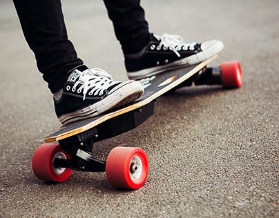 Electric Skateboard Brand Launch