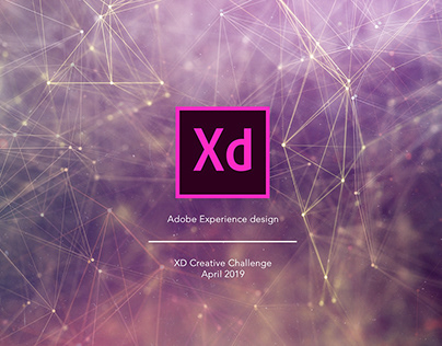 Adobe XD Daily Creative Challenge April 2019 Collection
