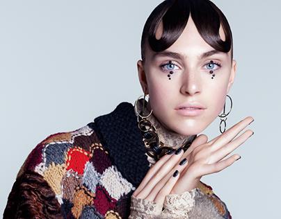 Hedvig Palm / Harper's Bazaar / Queen of Shadows