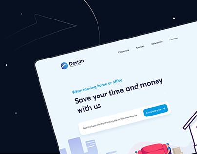 Destan Transport — UI/UX