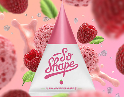 3D Ingredients and Packs • So Shape • FRANCE