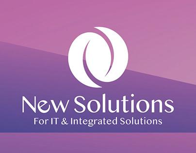 (New Solutions) new company visual identity