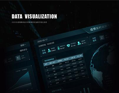 疫情数据可视化大屏