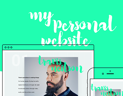 My Personal Website – 2017