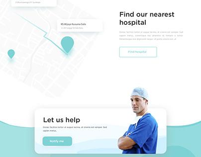 Hospital- Landing Page Design