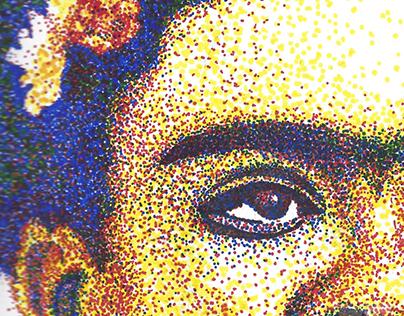 Frida Pointillism
