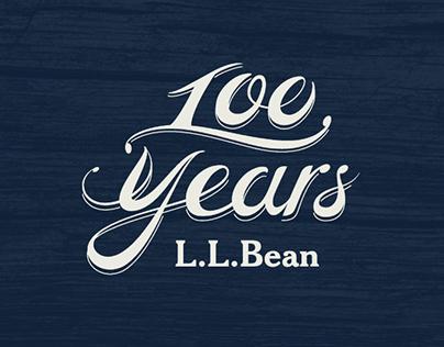 L.L.Bean 100th Anniversary