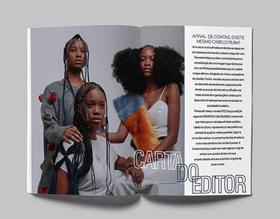 Diagramação- Revista Fios