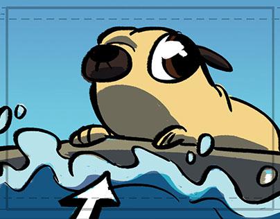 """Pebbles"" story animatic"