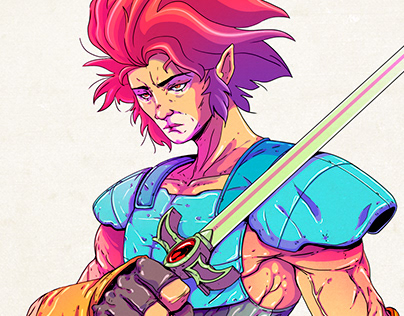 Lion-O - Thundercats - Redesign