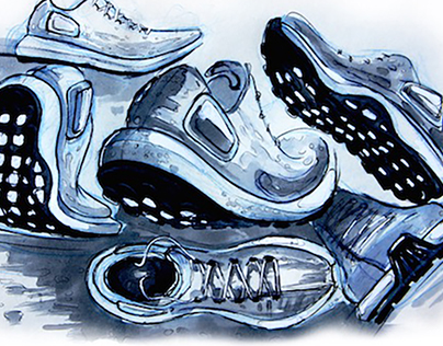 Footwear Concepts and Sketches