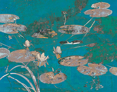 Floating Lilies