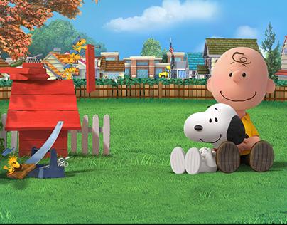 Peanuts - Snoopy's Town Tale