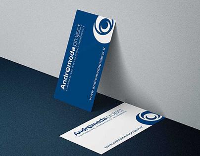 ANDROMEDAproject realizzazione logo.