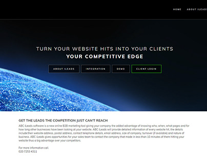ABC Ileads Website