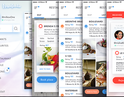 "iOS app restaurant finder ""friscofoodie"" (wip)"