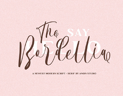 FREE | The Bordellia Modern Script