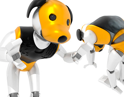 RoboDog Character Design