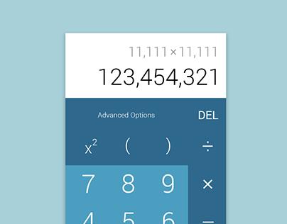 Daily UI 4 - Calculator