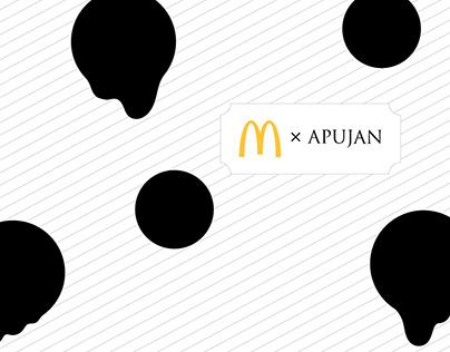 McDonald's X APUJAN 2019 聯名系列包裝