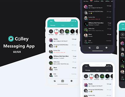 Calley Messaging App Ui