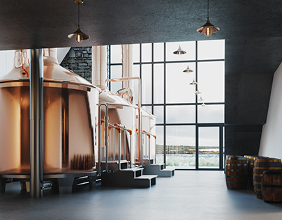 VIZprofiStudio CNOC BUI Whisky Distillery, Ireland