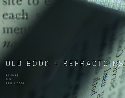 Old Book + Refractions