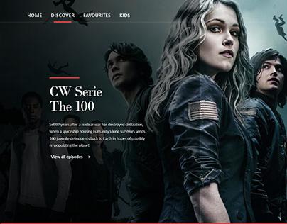 Webdesign site de streaming