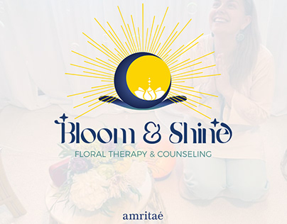 Logo Design - Bloom & Shine