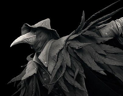 Bloodborne's Eileen the Crow - Prime 1 Studio