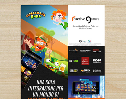 Magazine ad - Reactive Games