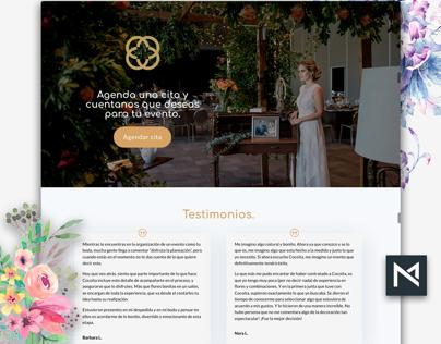 UX & Web Florast Design