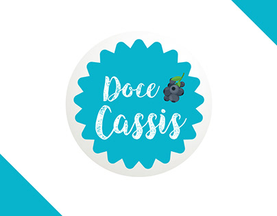 Identidade Visual - Doce Cassis