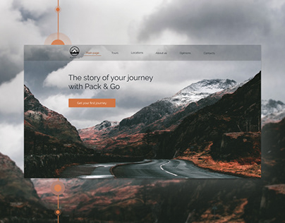 """Landing Page 