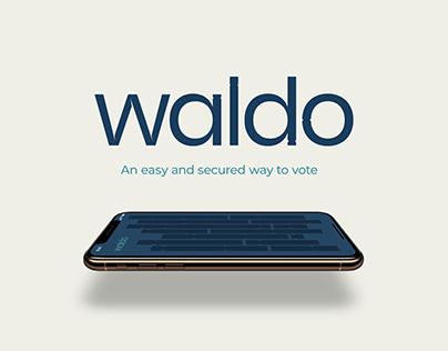 Waldo • Blockchain voting app